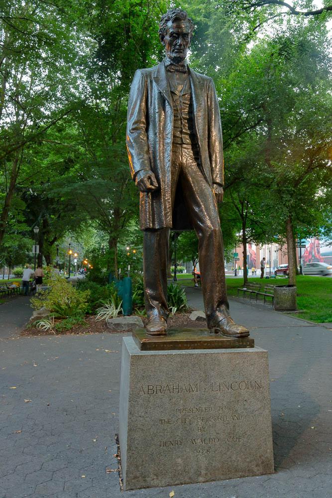 Abraham Lincoln statue, Portland, OR