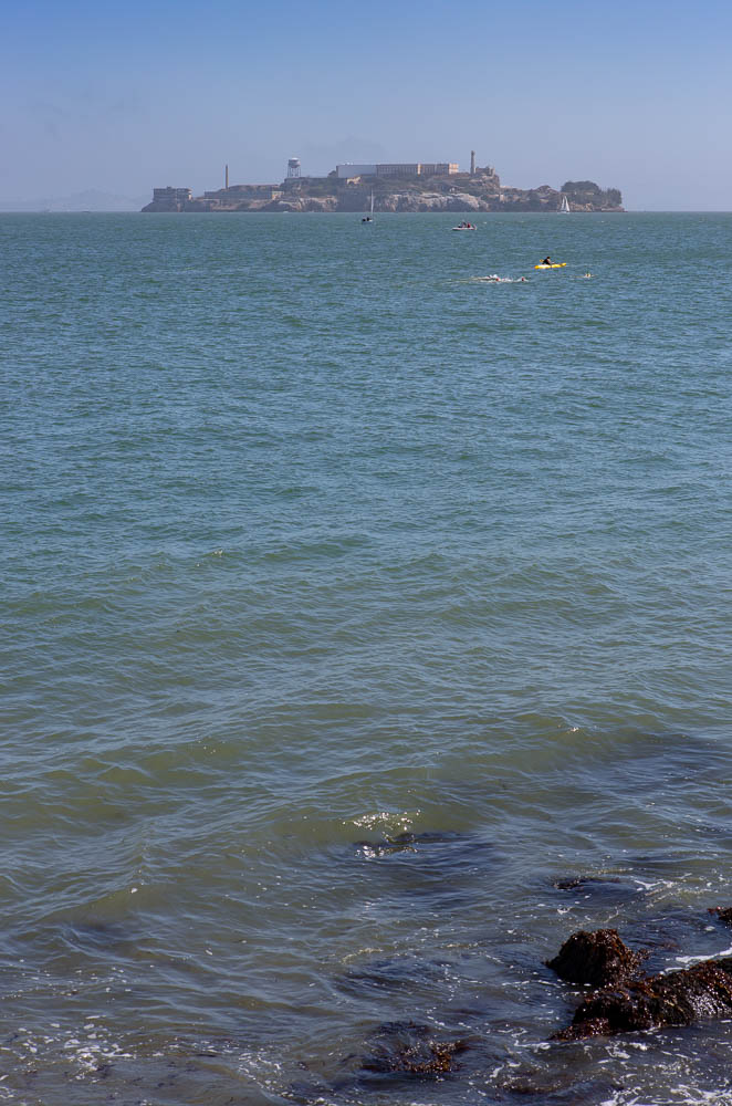 Alcatraz (I could swim that far), San Francisco, CA