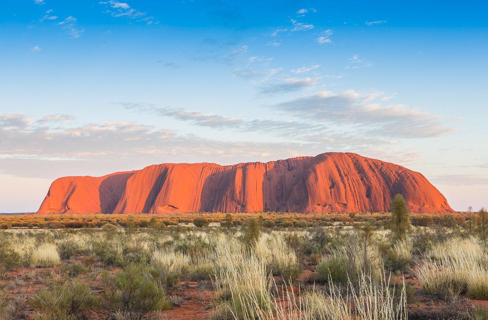 Ayers Rock, central Australia