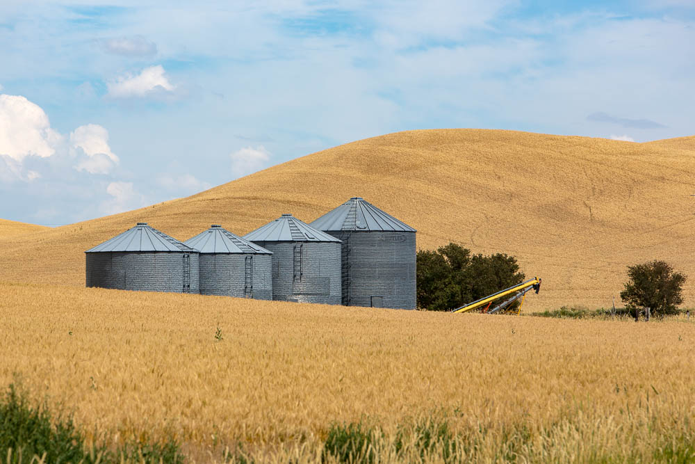 Crop Silos, Whitman, WA