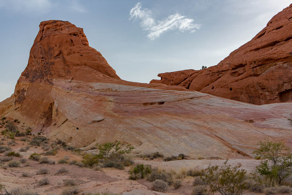 Rock formation, Valley of Fire, NV